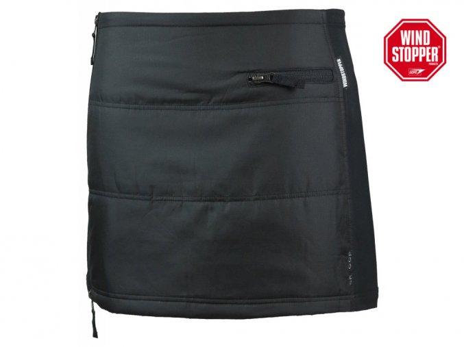 WINDSTOPPER® Mini sukně Gretchen SKHOOP - černá