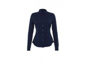Dámská košile s dlouhým rukávem LS Button 175 [sn] - ocean deep
